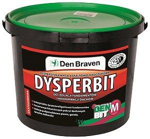 Dyspersyjna masa asfaltowo-kauczukowa Dysperbit firmy Den Braven